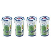 PriceDrop! Lock & Lock, Water Tight Food Container, 430ml/14-Oz, Pack of 4