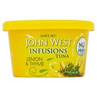 John West Foods Tuna Infusions Lemon & Thyme 80G