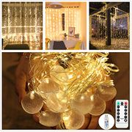 3m*3m Fairy Curtain Lights