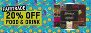 20% off Fairtrade Food and Drink