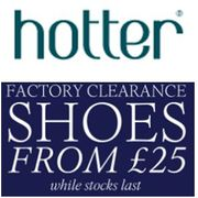 Shoes & Boots CLEARANCE at Hotter - from ONLY £25!