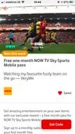 1 Month Free Now Tv Sky Sports on Vodaphone Rewards