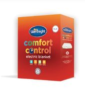 Best Price! Silentnight Comfort Control Electric Blanket - Single