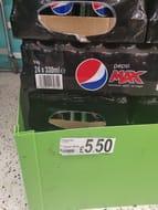 24 Cans Pepsi Max
