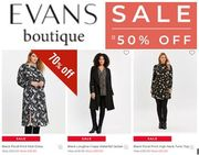 Plus Size & Curve Clothing - up to 70% off in the EVANS SPRING SALE