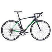Giant Contend 2 2019 Road Bike Black/Green - Medium Only