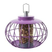 The Nuttery Chinese Lantern Aubergine Squirrel Proof Nut Feeder