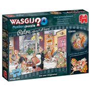 Wasgij Retro Mystery 4 Entertainment Puzzle 2for£15