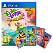 Yooka Laylee and the Impossible Lair & Limited Edition Art Cards (Ps4)