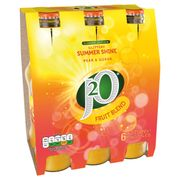 J20 Summer Shine Pear & Guava Juice Drink 6 X 275ml (And Other Flavours)