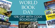 10% OFF For World Book Day