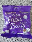 Cadburys Mini Snow Balls.