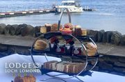 4* Lodge on Loch Lomond Morning or Afternoon Tea Luss, G83 8PA