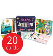 Just for You Greetings Cards - 20 Cards - Only £3