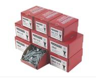 Quicksilver Pz Double-Countersunk Woodscrews Trade Pack 1400 Pcs