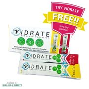 Try ViDrate TODAY for FREE! Maximum 1 Pack (2 Sachets) per Customer