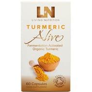 Living Nutrition Turmeric Alive (60 Caps)