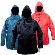 Climb 8 Foxford Overhead Smock Poncho Hooded Waterproof Red Blue Black