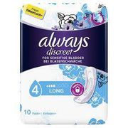 Free Samples of Always Discreet Pads