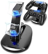 PS4 Controller Charger, PS4 Games Dock Charger Stand Holder for PS4