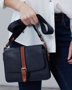 Wimbourne Carriage Leather Cross Body Bag