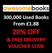 300,000+ Cheap Second Hand AWESOME BOOKS + Extra 20% off + Free Delivery