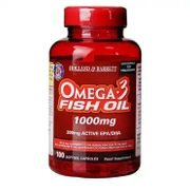 Omega 3 Fish Oil Capsules 1000mg 250 Softgel Capsules