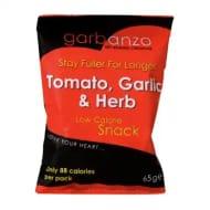Garbanzo Dry Roasted Chickpeas Tomato, Garlic & Herb 65g