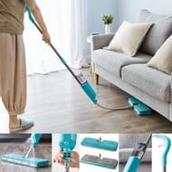 Flexible Spray Mop with Extendable Head & Double Sided Pad Wood Tiles Hard Floor