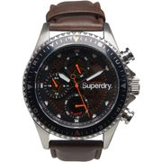 Cheap Superdry Mens Watch Brown - Save £40
