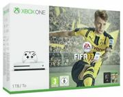 Cheap Microsoft Xbox One S 1TB Console with FIFA 17 Bundle - White Only £224.99