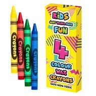 4 Wax Crayons