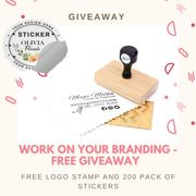 Win a Stamp and Sticker Set