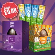 Save 25% on Moo Free Easter Collection of Chocolate Eggs and Bars