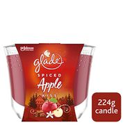 Glade Large Candle Spiced Apple Air Freshener 224 G Inspired by Frozen 2