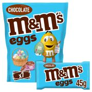 M&M's Chocolate Eggs Large Sharing Pouch 315G