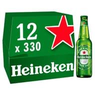 Cheap Heineken Lager Beer 12 X 330Ml - Only £7!