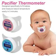 Kisshes Baby Thermometer LCD Digital Kids Mouth Nipple Pacifier