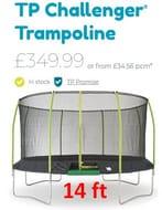 TP Challenger Trampoline - Large 14ft