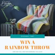 Win a Rainbow Throw!
