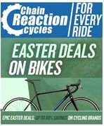 Chain Reaction Cycles - Easter Bike Deals - up to 40% OFF