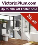 Special Offer! VictoriaPlum Bathrooms - up to 70% off EASTER SALE