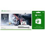 Xbox One S Star Wars Jedi Fallen Order Deluxe Edition & £15 Xbox Live Gift Card