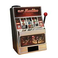 Have Fun Saving! Mini Slot Machine