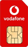 Vodafone Sim Only, Unlimited Minutes and Texts, 8GB for £8pm, £96 for 12 Months