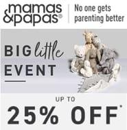 Mamas & Papas SALE - up to 25% OFF AT MAMAS & PAPAS