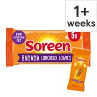 Soreen Banana Lunchbox Loaves 5 Pack