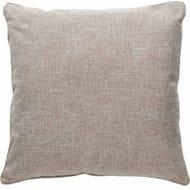 Wilko Stone Faux Linen Slub Cushion 55x55cm - 2 for £15