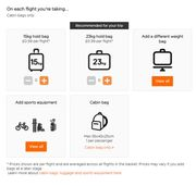 EasyJet Checked in Baggage Offer 23KG Bag Just 0.99p !!!!!!!