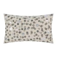 a by AMARA Grey Spotted Cushion - 30x50cm